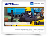 Diseño Web Pyme - Arfe