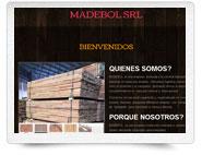 sitio web madebol
