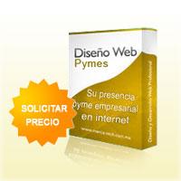 precio paquete diseño web pymes