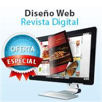 precio diseño web para revista digital