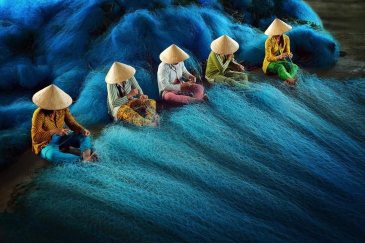 Red de la reparación de Ly Hoang Long