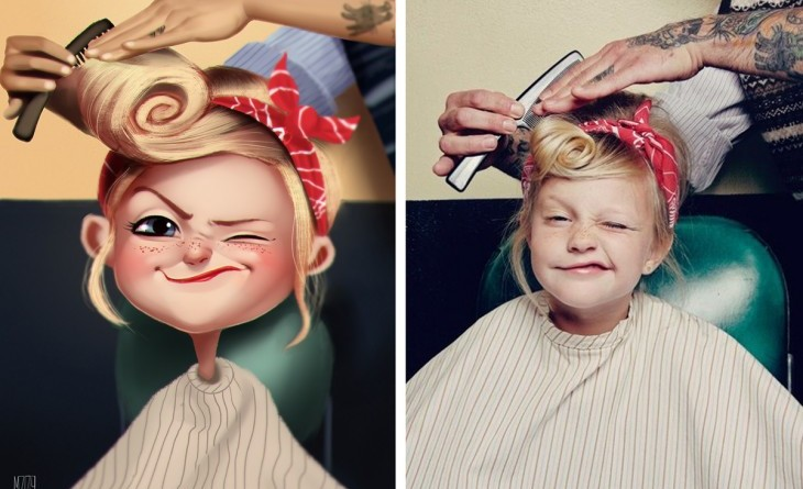Artista ilustra a usuarios de Instagram al azar ¡Tú podrías ser el siguiente!