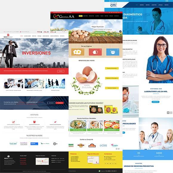 ejemplo sitios web empresarial