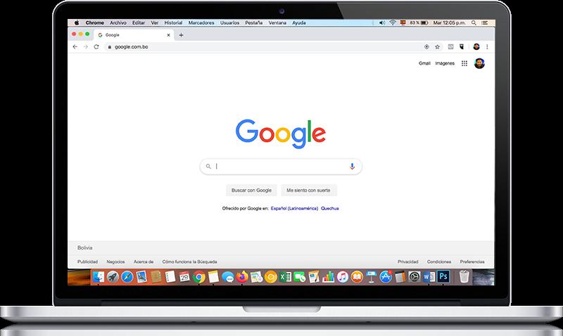 mac posicionamiento buscador google