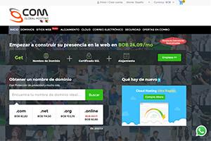 portal web gcom global hosting