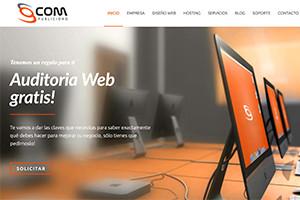 captura sitios web gcom publicidad