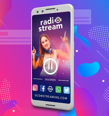 gcom radio stream app oficial