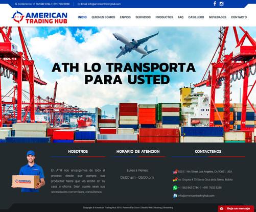 american-trading-hub-website